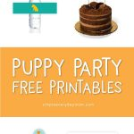 Puppy Party Theme Free Printable Pack | *all Free Printables From   Dog Birthday Invitations Free Printable