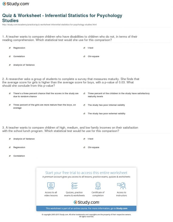 Free Printable Personality Test For High School Students