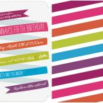 Rainbow Unicorn Birthday Party With Free Printables   The Cottage Mama   Free Printable Rainbow Unicorn Invitations