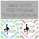 Ready To Pop Baby Shower Free Printables | Baby Shower In 2019   Free Printable Ready To Pop Labels