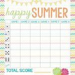 Recipes From Stephanie: Free Bunco Score Sheet | Bunco In 2019   Free Printable Bunco Score Sheets