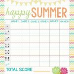 Recipes From Stephanie: Free Bunco Score Sheet | Bunco In 2019   Printable Bunco Score Cards Free