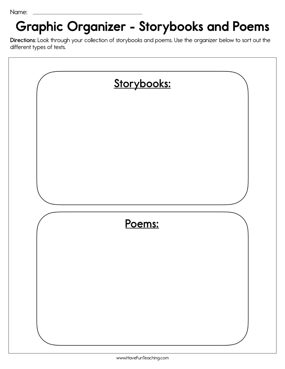 Resources | Have Fun Teaching - Free Printable Sequence Of Events Graphic Organizer