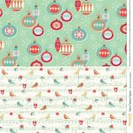 Retro Festive Free Printables From Papercraft Inspirations 145   Free Printable Wrapping Paper Sheets