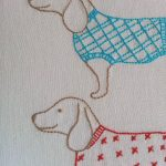 Ric Rac: Moving On   Free Sausage Dog Embroidery Pattern | Crafts   Free Printable Dachshund Sewing Pattern