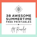 Roundup: 38 Free Summer Printables • Little Gold Pixel   Free Summer Printables