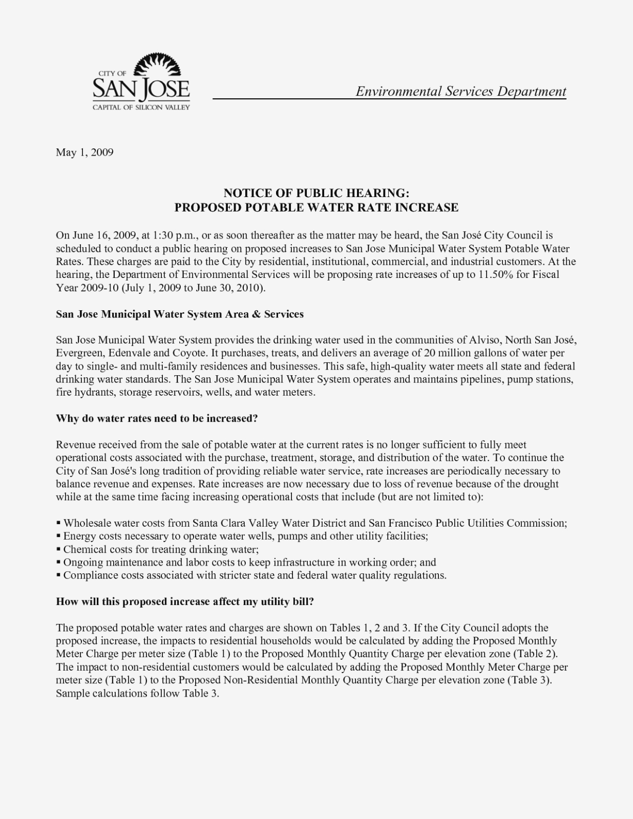 Sample Rent Increase Letter Espanoloik10 – Rent Increase - Free Printable Rent Increase Letter Uk