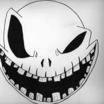 Scary Pumpkin Patterns Free Printable   Monster Face Pumpkin Stencil   Free Printable Scary Pumpkin Patterns