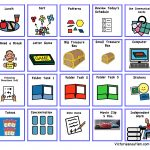 Schedule, Activity And Task Cards   Free Printable Visual Schedule For Classroom
