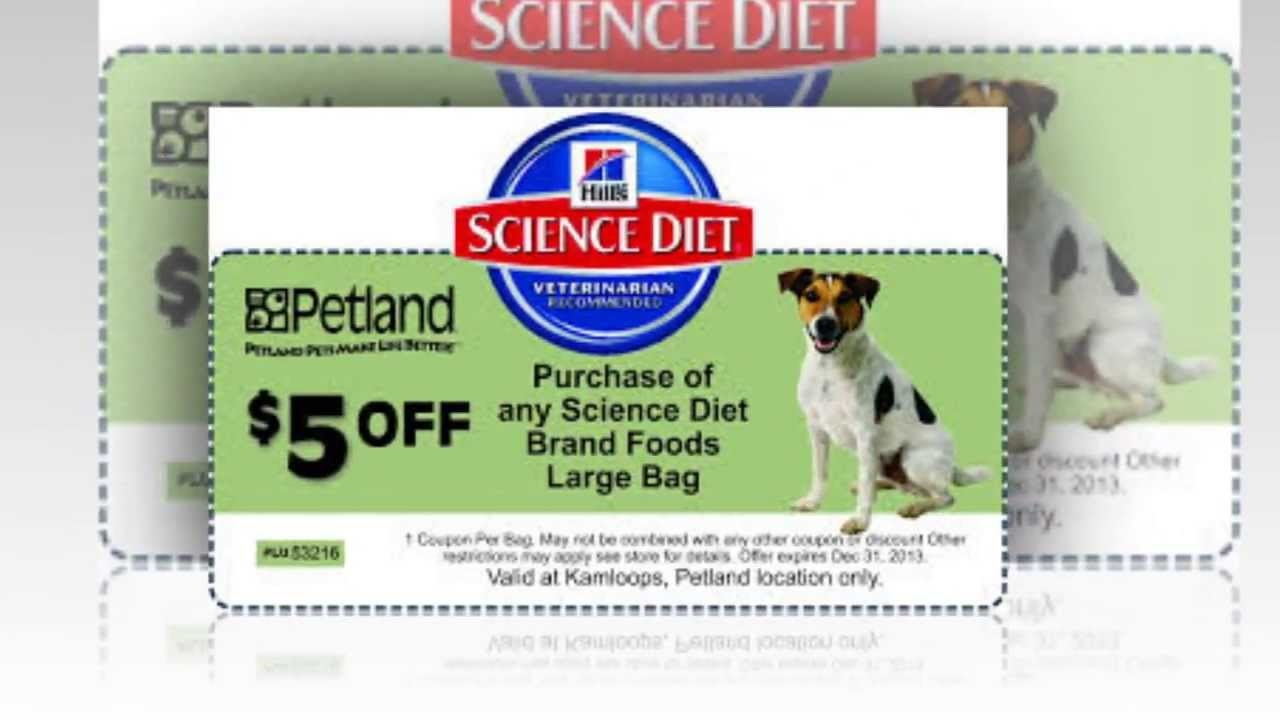 Science Diet Coupons | Hills Science Diet Coupons - Youtube - Free Printable Science Diet Dog Food Coupons