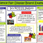 Science Fair Project Boards Examples | Science Fair Display Board   Free Printable Science Fair Project Board Labels