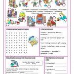 Services Vocabulary Exercises Worksheet   Free Esl Printable   Free Printable Customer Service Worksheets