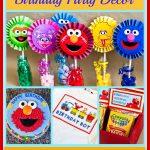 Sesame Street & Elmo Themed Birthday Party   Free Sesame Street Printables