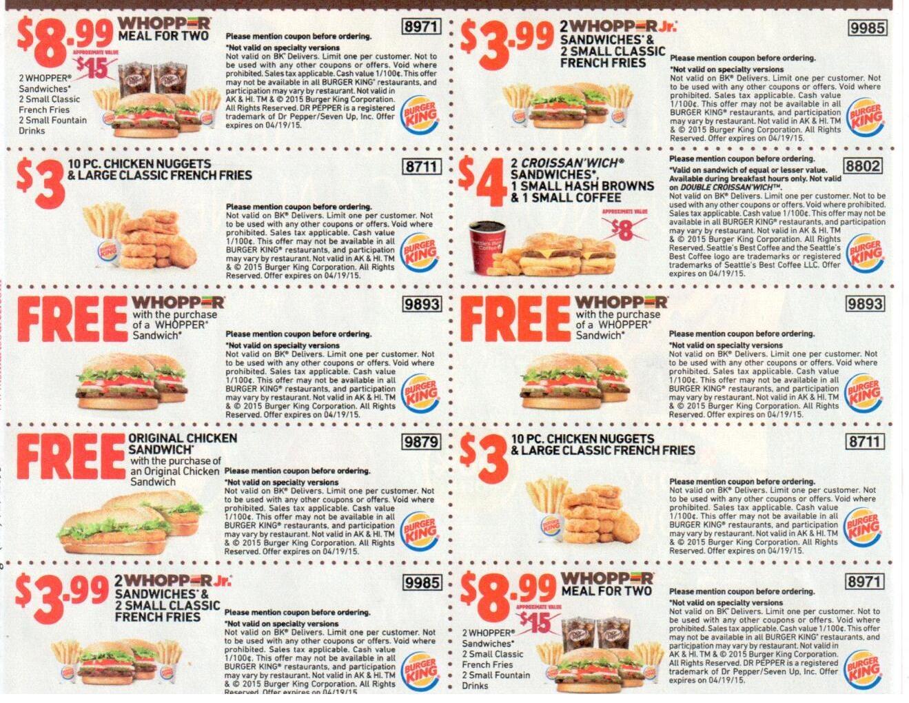 Sheet-Burger-King-Printable-Coupons-May - Burger King Free Coupons Printable