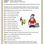 Short Plays (1): Elves On Strike | Teaching Kids | Esl | Christmas   Free Printable Christmas Plays For Sunday School