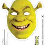 Shrek Photo Booth Props: Free Printable Shrek Mask | Shrek Birthday   Free Printable Shrek Invitations