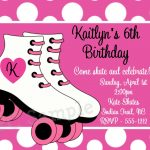 Skate Party Invitation Template. Party Invitations Free Printable   Free Printable Skateboard Birthday Party Invitations