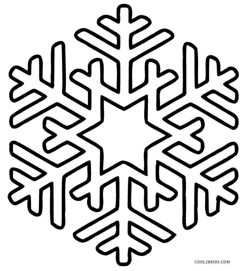 Snowflakes Black And White | Free Download Best Snowflakes Black And - Free Snowflake Printable Coloring Pages