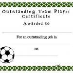 Soccer Certificate Templates Blank | K5 Worksheets | Sports   Sports Certificate Templates Free Printable