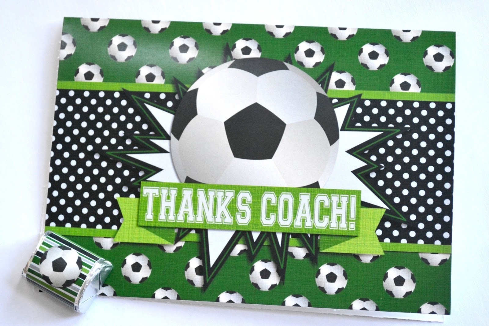 Soccer Party Printables And Coach Gifts | Amanda Creation - Free Printable Soccer Thank You Cards