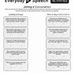 Social Skills Activities | Everyday Speech   Everyday Speech   Free Printable Social Skills Activities Worksheets