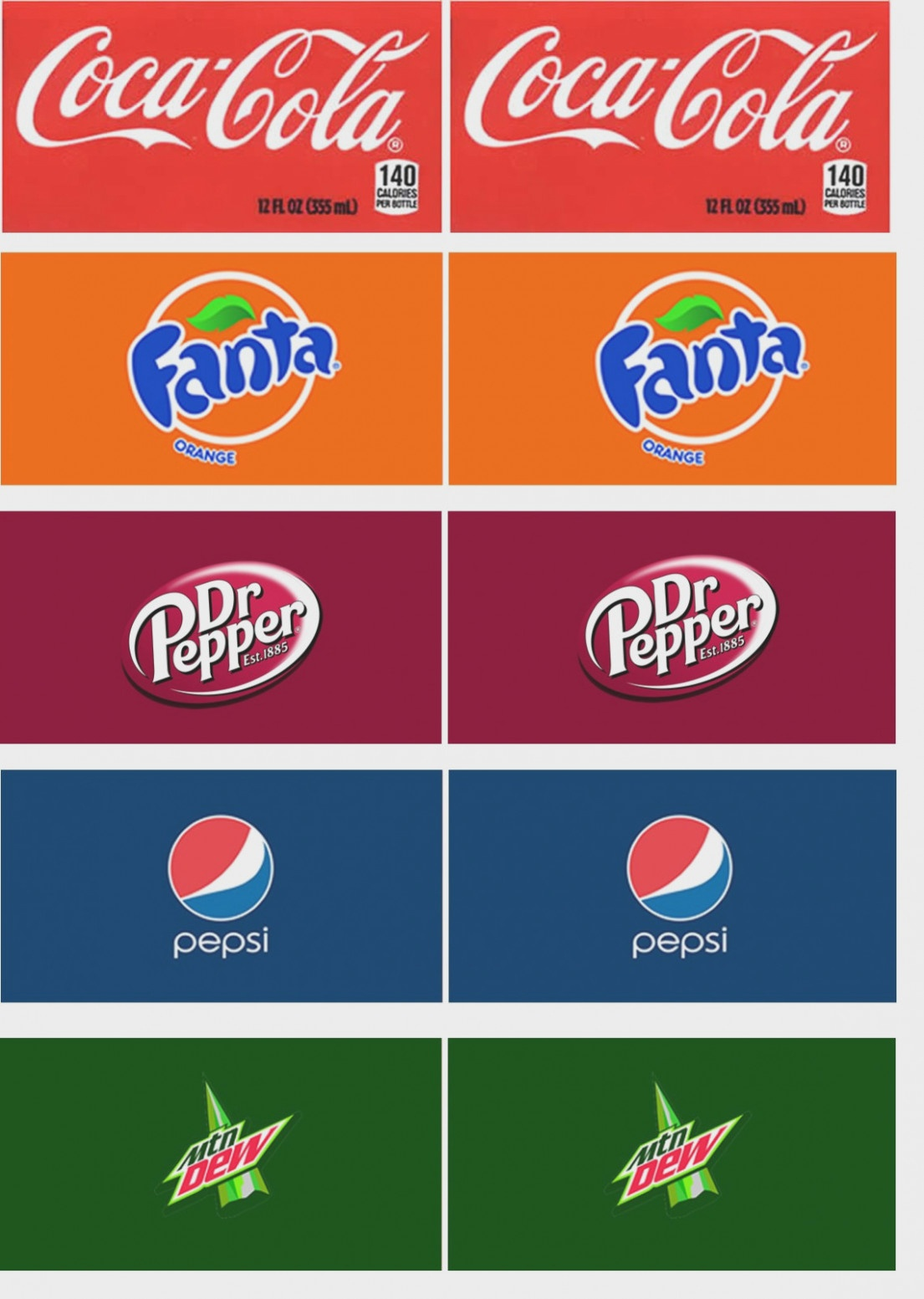 Soda Machine Labels Printable Printable Vending Machine Drink Labels - Free Printable Soda Vending Machine Labels