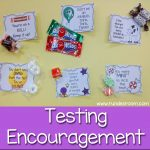 Some Sweet Testing Encouragement | School | Staar Test, Test Anxiety   Free Printable Testing Signs