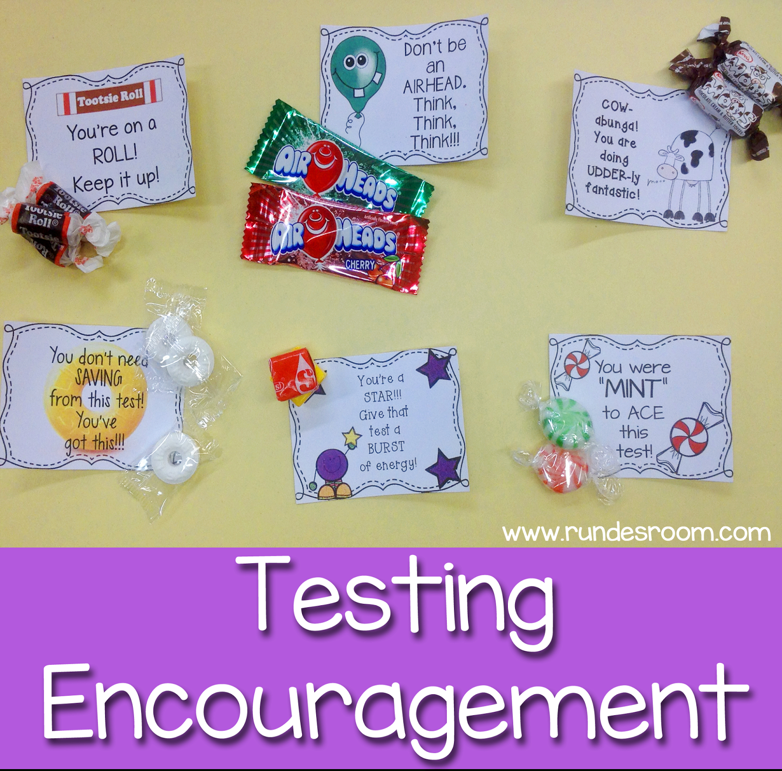 Some Sweet Testing Encouragement | School | Staar Test, Test Anxiety - Free Printable Testing Signs