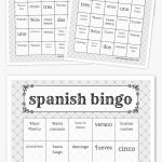 Spanish Bingo   Paises Latinos   Free Printable Bingo Cards, Bingo   Free Printable Spanish Bingo Cards