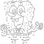 Spongebob Dot To Dot | Free Printable Coloring Pages   Dot To Dot Free Printables