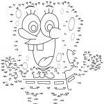 Spongebob Dot To Dot | Free Printable Coloring Pages   Free Dot To Dot Printables