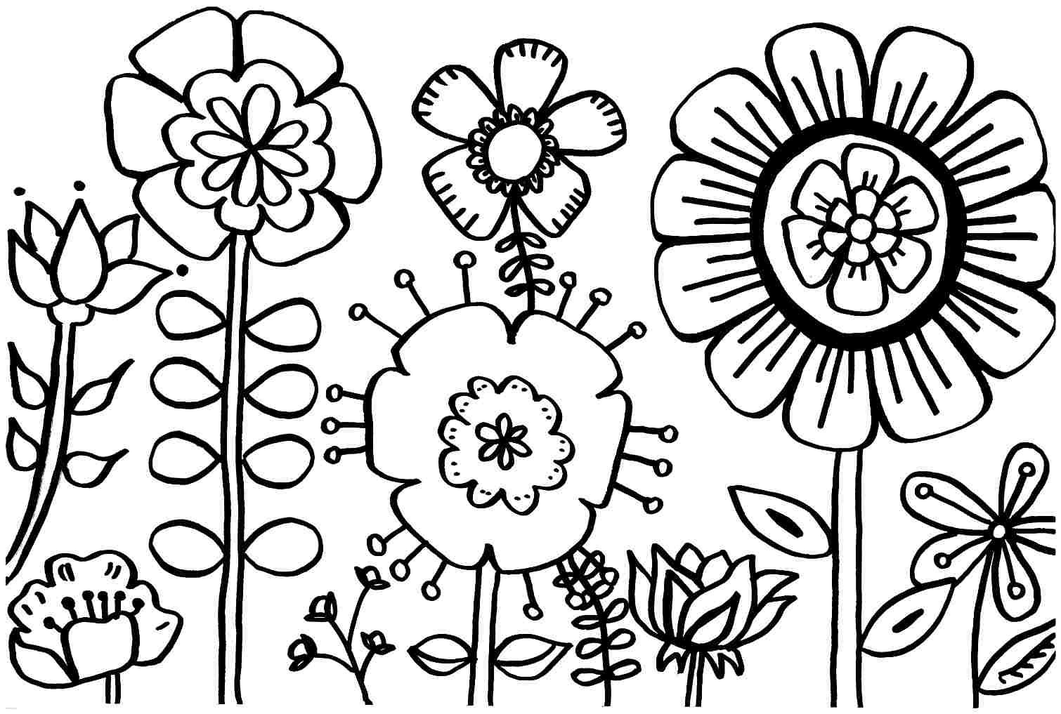 Spring Coloring Pages Free Coloring Pages Free Printable Spring - Free Printable Spring Coloring Pages