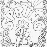 Spring Coloring Pages To Print Agreeable Springtime Coloring Pages   Free Printable Spring Coloring Pages