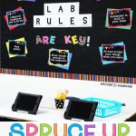 Spruce Up Your Computer Lab With Chalkboard Decor   Around The Kampfire   Free Printable Computer Lab Posters