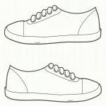 Squish Preschool Ideas: Sneaker Art | 2Nd Grade! End Of Year   Free Printable Shoe Print Template