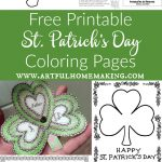 St. Patrick's Day Coloring Pages And Free Printables   Artful Homemaking   Free Printable Saint Patrick Coloring Pages