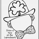 St Patricks Day Coloring Pages Photographs Free Printable St Patrick   Free Printable Saint Patrick Coloring Pages