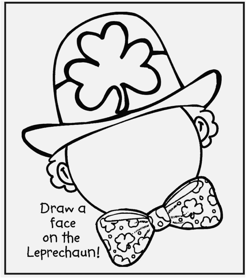 St Patricks Day Coloring Pages Photographs Free Printable St Patrick - Free Printable Saint Patrick Coloring Pages