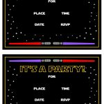 Star Wars Free Printables | Catch My Party   Star Wars Invitations Free Printable