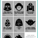 Star Wars Valentines Printables Free Download | Wonderbash   May The Force Be With You Free Printable