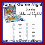 State Capital Flashcards Printable Free For Family Game Night   State Capital Flashcards Printable Free