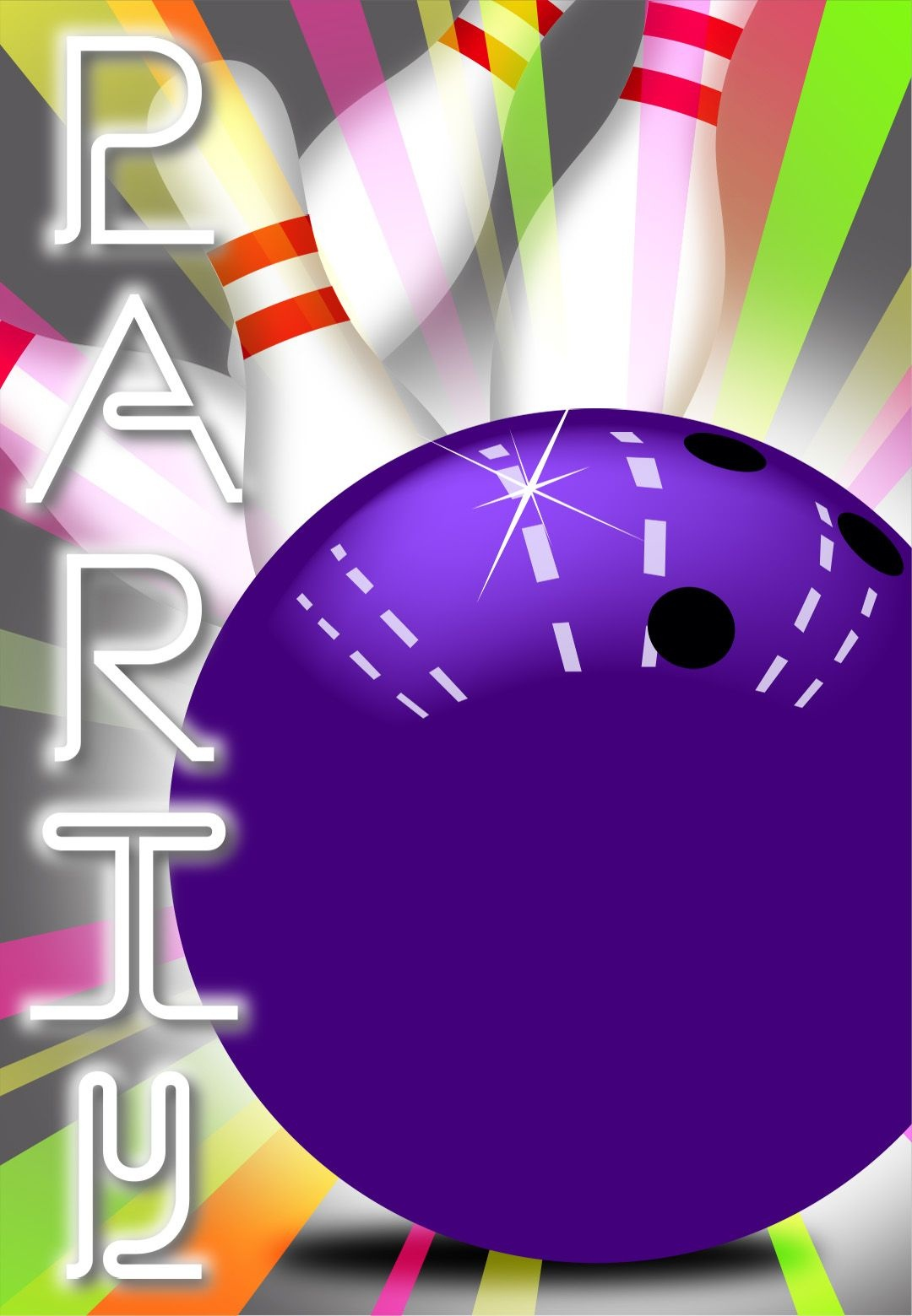 Strike Bowling - Free Printable Birthday Invitation Template - Free Printable Bowling Birthday Party Invitations