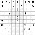 Sudoku Printable | Free, Medium, Printable Sudoku Puzzle #1 | My   Free Printable Sudoku Puzzles