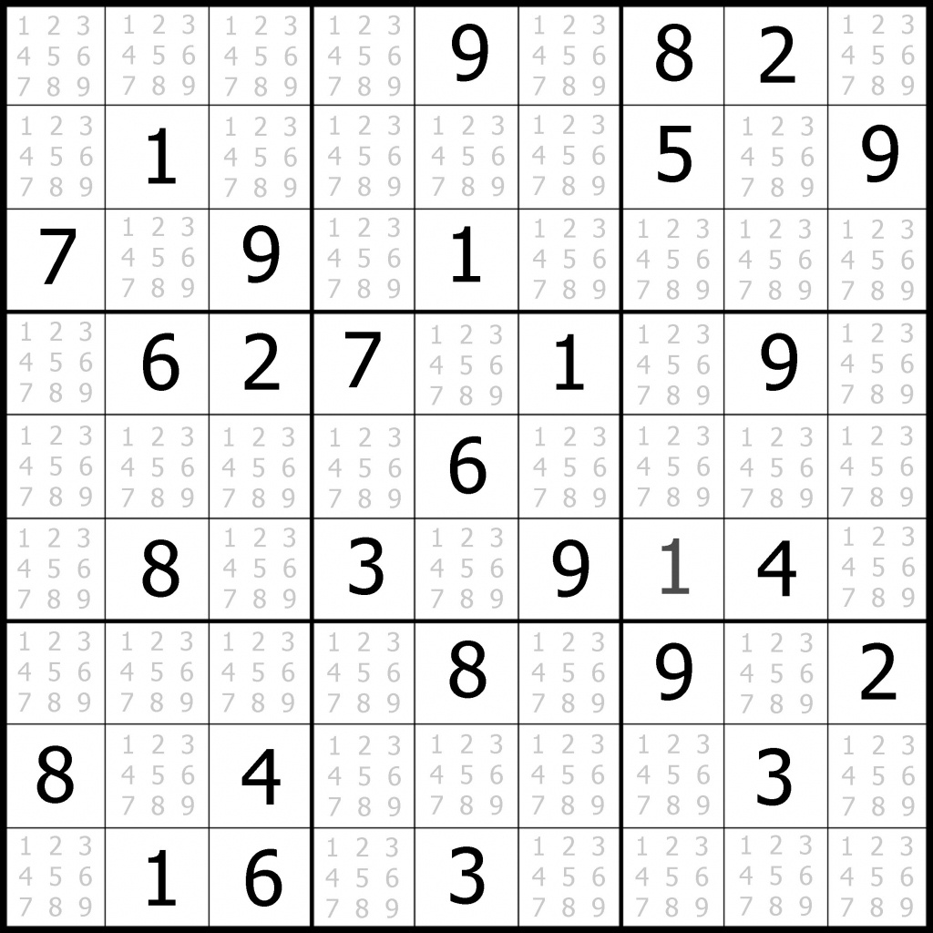 Sudoku Puzzler | Free, Printable, Updated Sudoku Puzzles With A - Free Printable Sudoku Easy