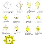 Sunflower Tea Bag Fold Instructions | Tea Bag Folding | Origami   Free Printable Tea Bag Folding Patterns
