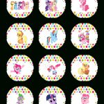 Super Cute Collection Of Free My Little Pony Party Printables. This   My Little Pony Free Printables