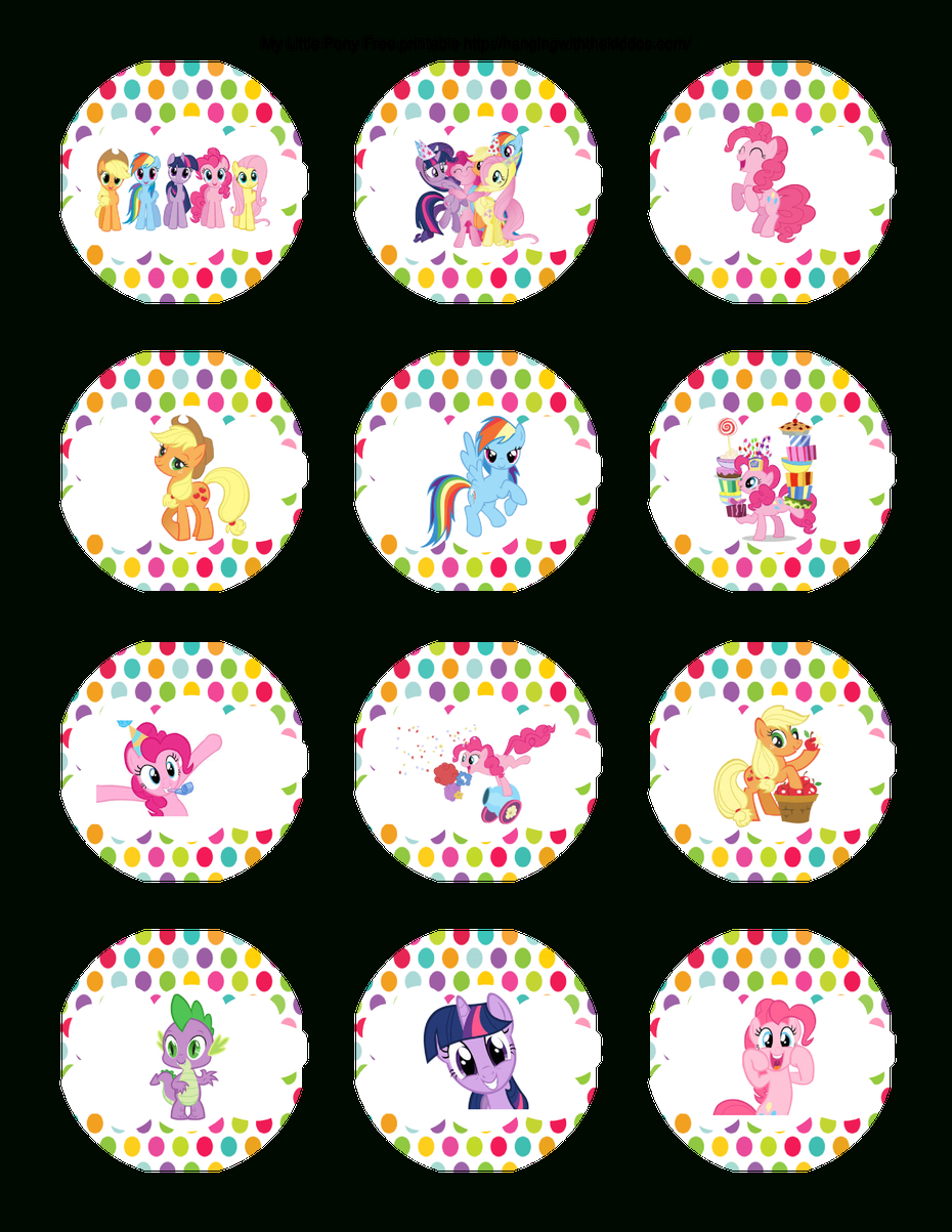 Super Cute Collection Of Free My Little Pony Party Printables. This - My Little Pony Free Printables