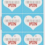 Super Fun Free Valentine's Printable   My Name Is Snickerdoodle   Free Valentine Printables