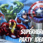 Superhero Birthday Party Ideas {With Free Printables!} | Life   Free Avengers Birthday Party Printables