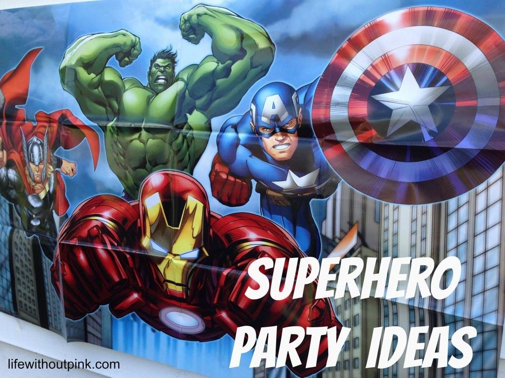 Superhero Birthday Party Ideas {With Free Printables!} | Life - Free Avengers Birthday Party Printables